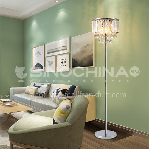 Living room crystal floor lamp simple modern personality creative household led crystal lamp bedroom floor lamp-GD-0215